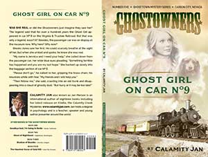 Cover of Ghost Girl in Car No. 9